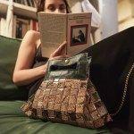 """""""15_Fifteen 07: Borsa realizzata intrecciando sacchetti di caffè #Upcycling #bag #artigianato #madeinitaly #accessori #riciclo"""
