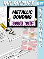 Metallic Bonding Doodle Notes worksheet.