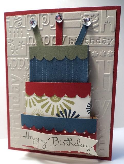 3-D Happy Birthday: Cards Ideas, Cupcakes Al, Bday Cards, Creatabl Cards, Happy Birthday Cards, 3D Cards, Zzzzzzzzzzzzbirthday Cards, Birthday Cakes, Cards Men