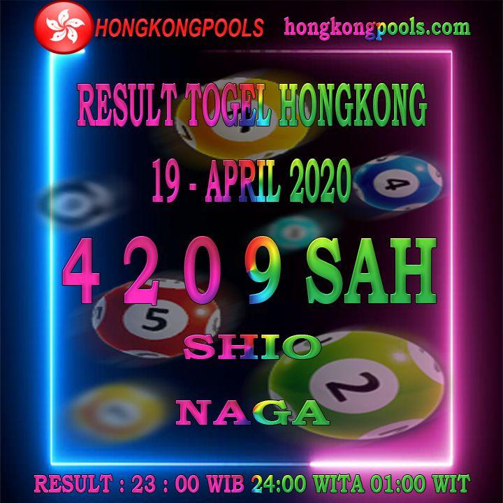 Result Togel Hongkong 19 April 2020 Di 2020 19 Juni Kuda 17 Mei