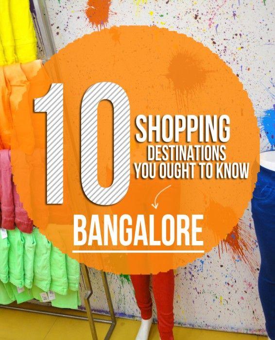 bangalore, india, shopping