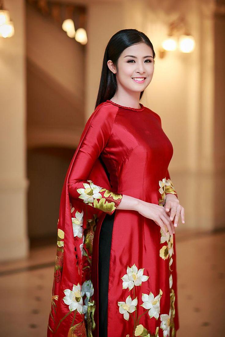 Áo dài lụa tơ tằm Việt