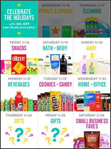 Boxed needed to promote 12 days of holiday deals, with a new deal featured every day. Instead of creating 12 different emails, they created just one time-targeted email that updated automatically in real-time with the status of expired and upcoming deals.