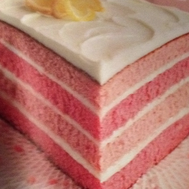 Pink Lemonade Layer Cake Better Homes And Gardens