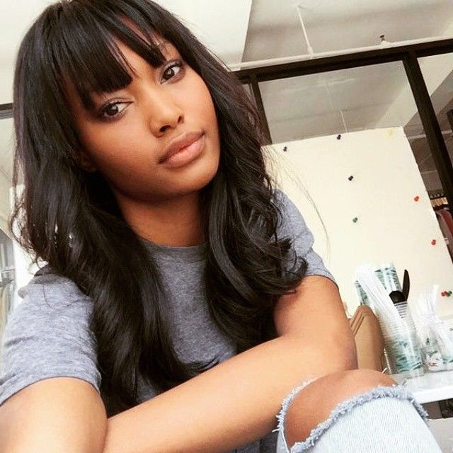 Surprising 1000 Ideas About Chinese Bangs On Pinterest Hair Wigs And Full Short Hairstyles For Black Women Fulllsitofus