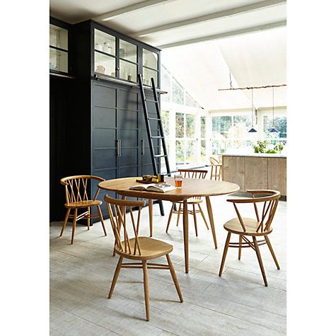 Buy Ercol For John Lewis Chiltern 4 6 Seater Extending Dining Table Online At Johnlewis