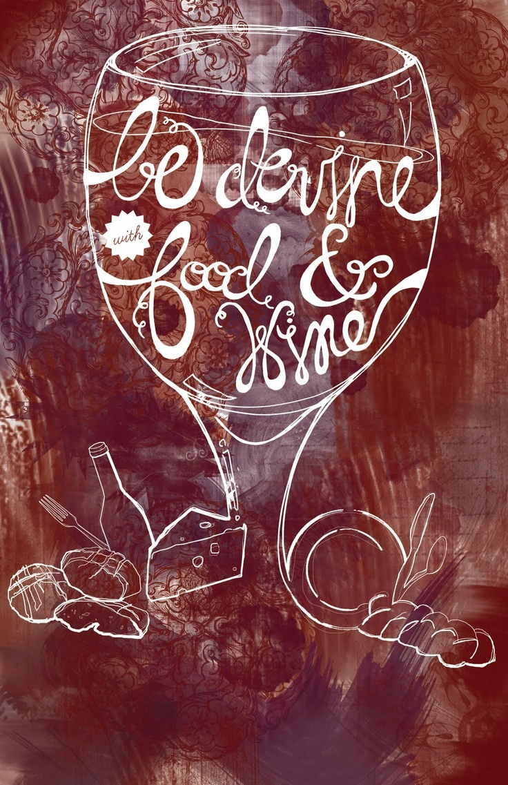 14 best Wine + Design + Typography images on Pinterest | Typography ...