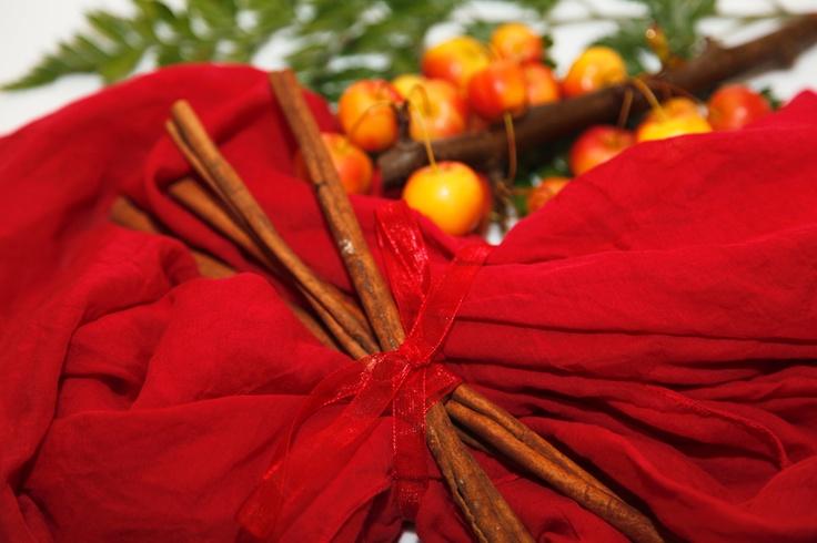 Sciarpa Texaroma profumata alla fragranza di Cannella  Texaroma Scented Scarf with Cinnamon's fragrance