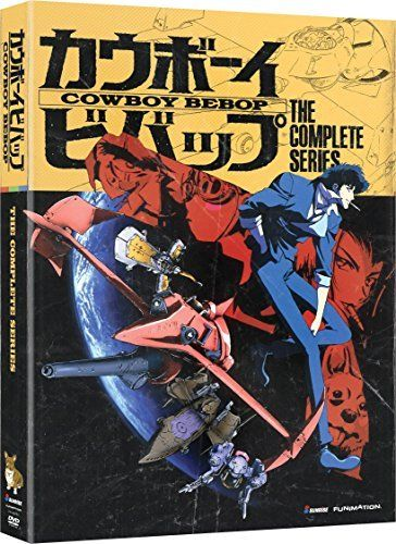 Cowboy Bebop: The Complete Series David Lucas, Wendee Lee, Shinchiro Watanabe, Melissa Williamson   |   Format: DVD via https://www.bittopper.com/item/cowboy-bebop-the-complete-series-david-lucas-wendee-lee/