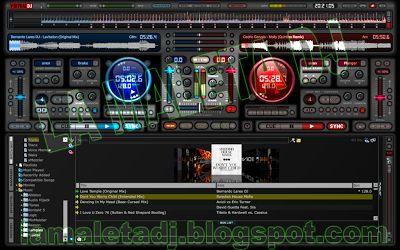descarga Virtual DJ 7 Skin MixLab v1,3 ~ Descargar pack remix de musica gratis   La Maleta DJ gratis online