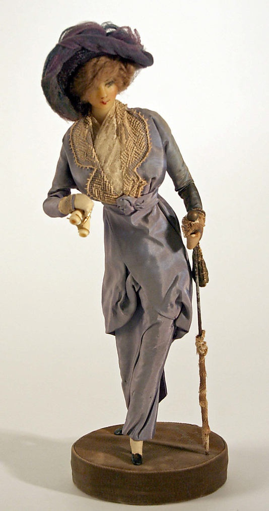 Doll  Lafitte Desirat (French)  Date: 1909–14 Culture: French Medium: wax Dimensions: [no dimensions available] Credit Line: Gift of Mrs. Walter R. Lehmann in memory of Mr. Walter R. Lehman, 1972 Accession Number: 1972.151.8