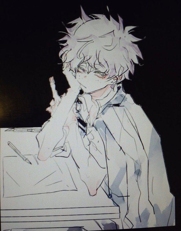 Midoriya Izuku Villain Au Inverted Boku No Hero Academia Gambar Anime Gambar