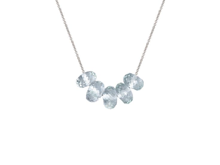 Olly and Rose Blue Topaz Necklace