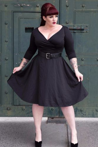 f59090f386ef Outfits- 20 Ideas from Casual to Classy. Black Rockabilly Dress by Heart of  Haute    could rock this look - though not in black!
