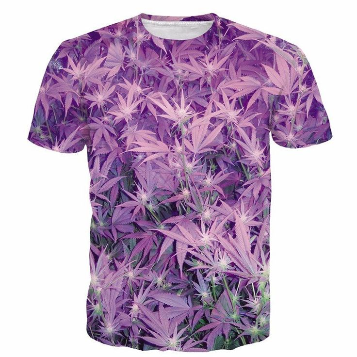 Natural Cannabis Plants Cool Purple Weed Leaves Full Print T-shirt #Natural #Cannabis #Cool #Purple #Weed #Leaves #FullPrint #Tshirt