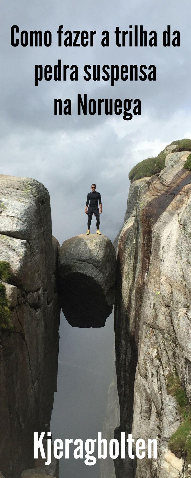 Tudo o que você precisa saber para fazer a trilha a pedra suspensa na Noruega.