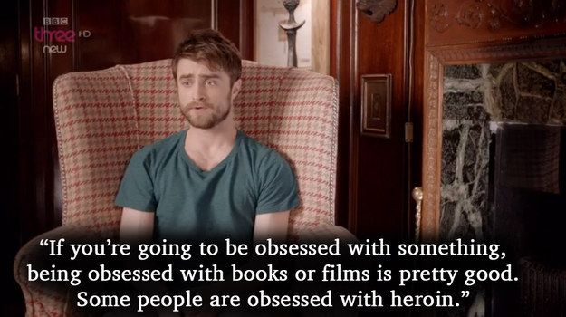 "Radcliffe manages to sum up superfans very well. | Here's What The ""Harry Potter"" Stars Have Got To Say About Their Most Obsessive Fans"
