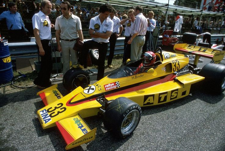 1977 ATS Penske PC4 - Ford Hans Binder | F1 | Pinterest ...