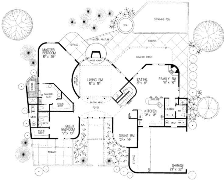 1072 best home floorplans i \u003c3 images on pinterest floor plans Lennar Homes Floor Plans modern style house plan 4 beds 4 baths 3136 sq ft plan 72 lennar homes floor plans