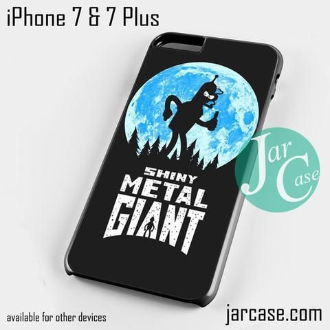 Shiny Metal Giant Phone case for iPhone 7 and 7 Plus