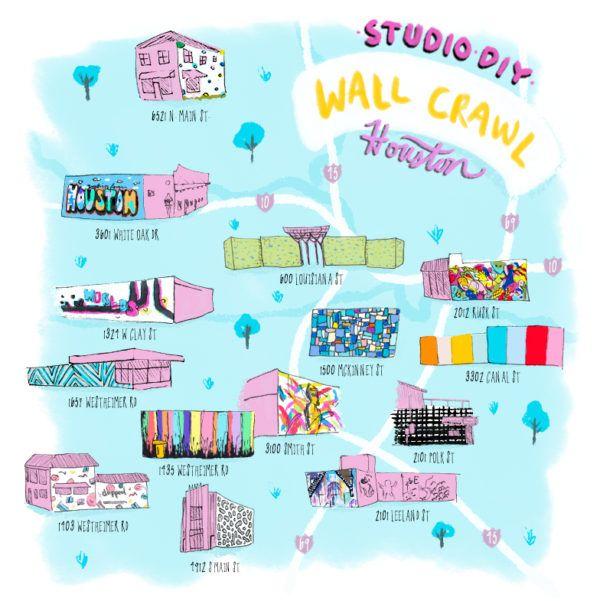 #StudioDIYWallCrawl: The Best Walls in Houston | studiodiy.com