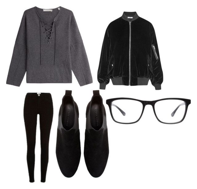 """http://www.polyvore.com/cgi/group.show?id=210797."" by stylesforstars ❤ liked on Polyvore featuring Vince, River Island, IRO, Zara and Joseph Marc"