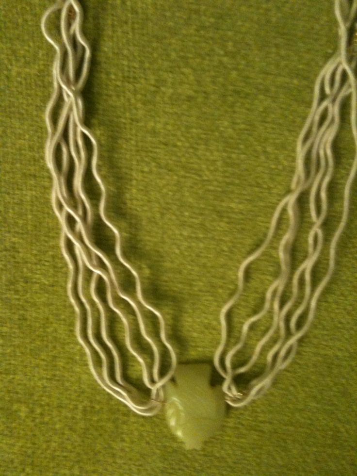 fish & strings necklace