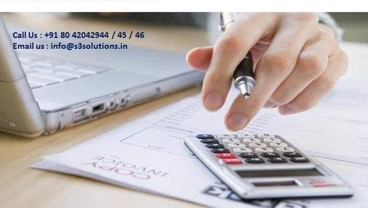 http://www.s3solutions.in/ ,Contact us @ 80 42042944 or info@s3solutions.in for Book keeping and Accounting Service .