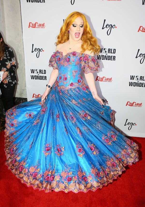 "The most beautiful Drag Queen Ever: Jinkx Monsoon. Logo TV's ""RuPaul's Drag Race"" Season Finale Event - Arrivals"