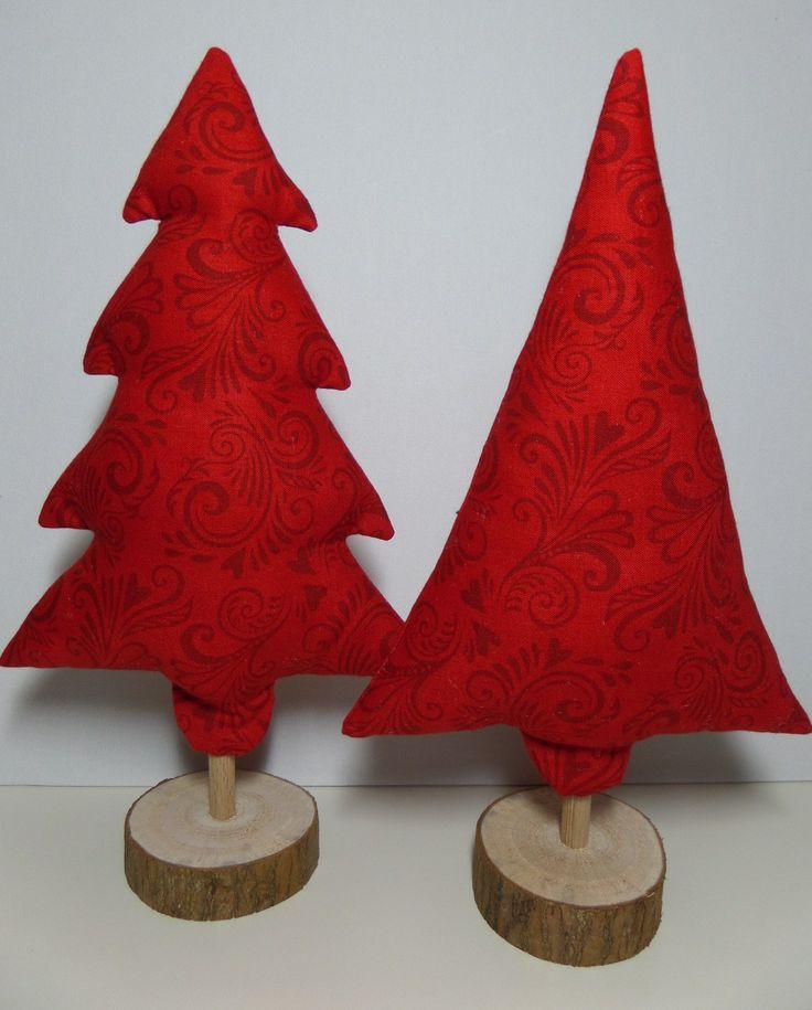 Maak-het-zelf kerstboompje op houten voet