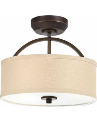 Shops Ceiling fan lights and Drum shade on Pinterest