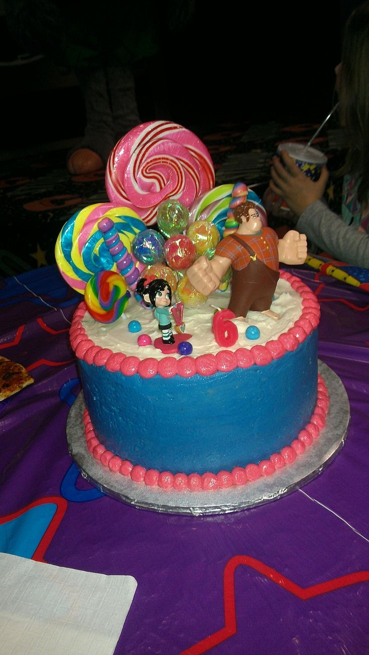 Vanellope Car Happy Birthday Cake Topper
