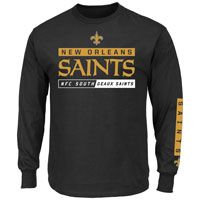 New Orleans Saints 2016 Primary Receiver Long Sleeve NFL T-Shirt: The New Orleans Saints… #nhl #nfl #mlb #nba #sportsjerseys #sportsapparel