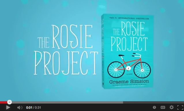 Watch the trailer for The Rosie Project from @HarperCollins Canada on YouTube. #BookClub #SRBookClub #TheRosieProject