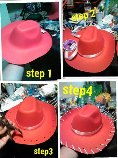 Diy jessie hat                                                                                                                                                                                 More