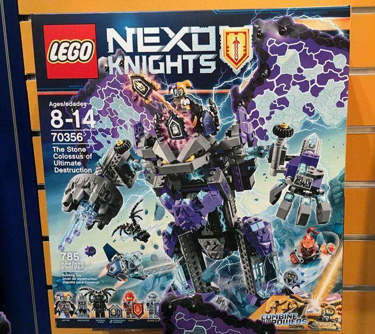 Bilderesultat for nexo knights steinmonster