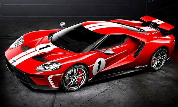 Ford celebrates half a century of Le Mans victory with a special GT 6