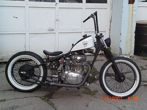 Yamaha xs650 bobber jockey shift