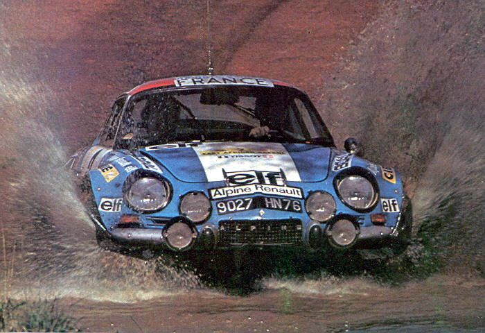 Safari 1974 - Darniche Bernard - Mahé AlainiconAlpine-Renault A110 1800