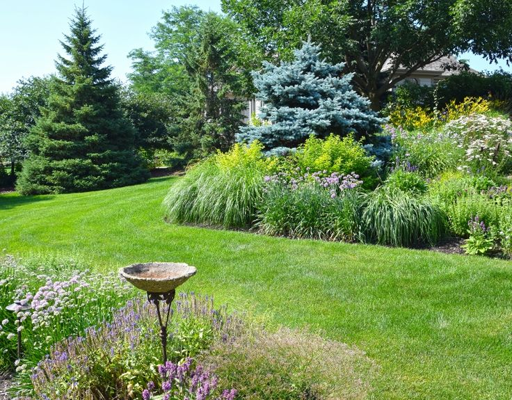 Gardens designed and installed by Northwind Perennial Farm, Burlington, WI for private residence in Franklin, WI.