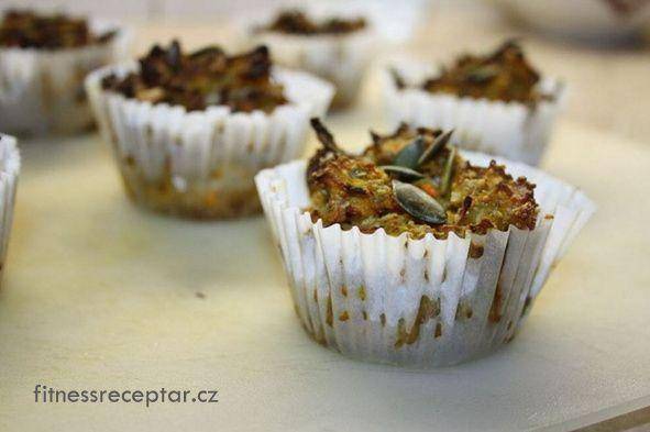 Slané dýňové muffiny bez mouky