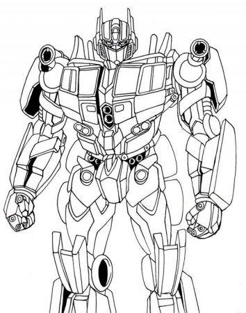 Ausmalbilder Transformers Malvorlage Transformers Coloring Pages