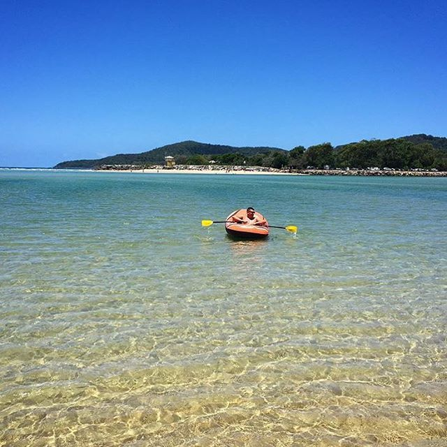 When paddling around the Noosa waterways it is worth taking 5 minutes to pause and soak up the incredible surrounds, just like this! This shot was snapped from Noosa North Shore, looking back towards the Noosa Spit.