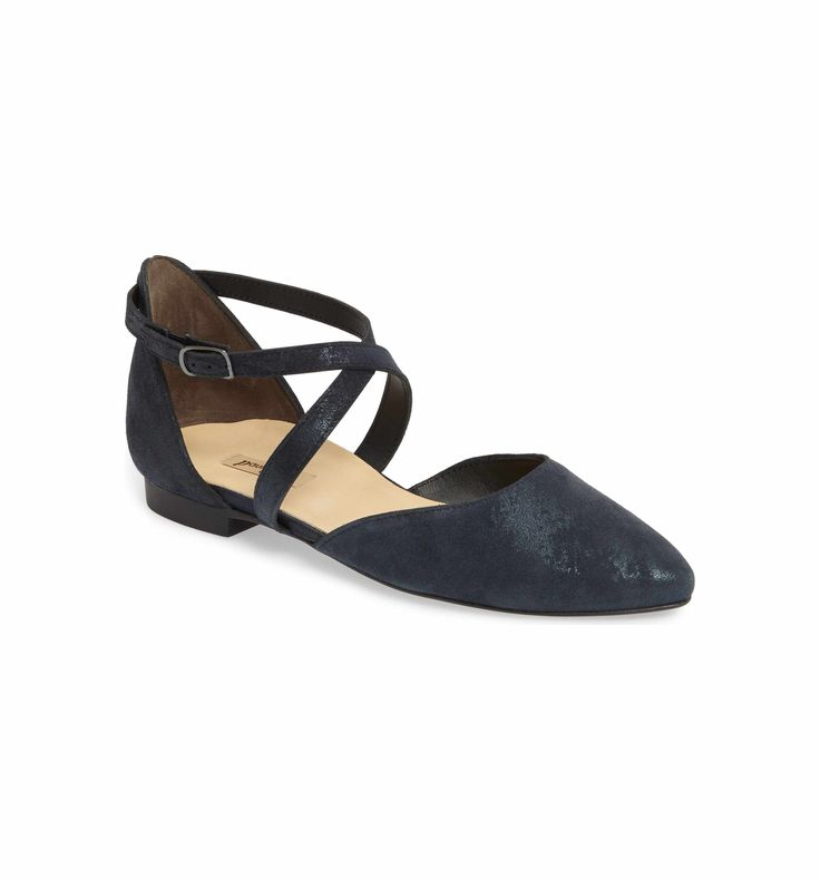 Main Image - Paul Green Margo Cross Strap Flat (Women)