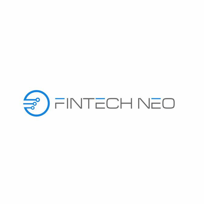 Combined technology and finance in a stylish logo by walhie_sangha