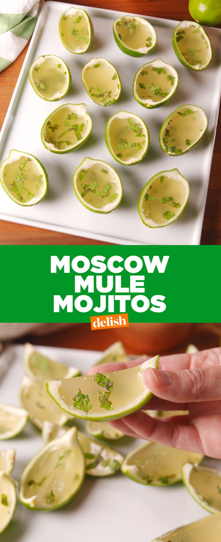 You've never had Moscow Mules like THIS before. Get the recipe at Delish.com.