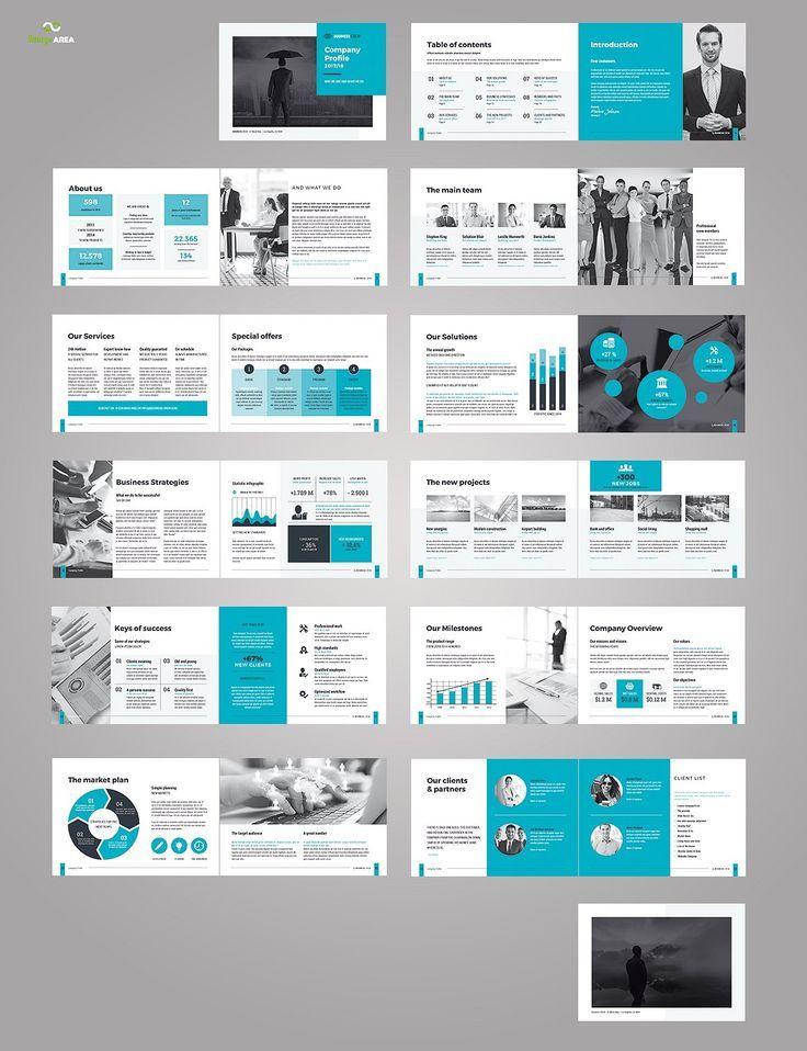 Landscape Company Profile Brochure Design Layout Corporate Brochure Design Company Profile Design