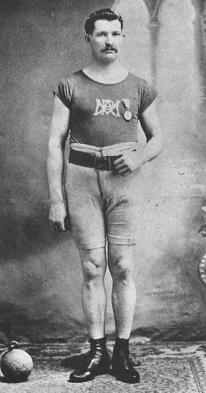 Le champion olympique Étienne Desmarteau