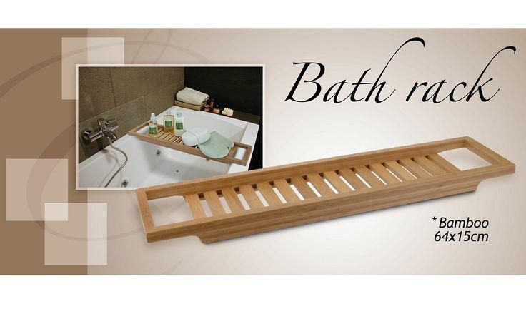 Vassoio bambù per vasca da bagno #bambù #bath #rack
