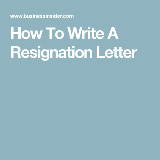 Best 25+ Short resignation letter ideas on Pinterest Two week - how to write a resignation letter